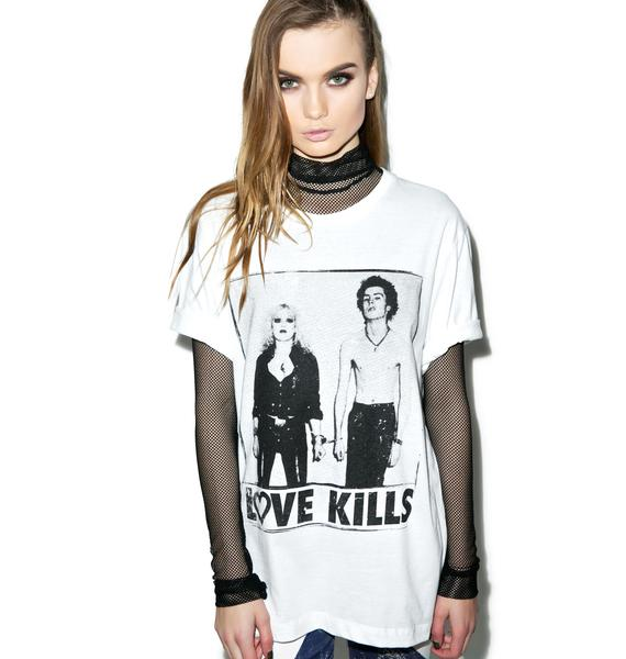 Kill Brand Love Kills Sid Short Sleeve Tee