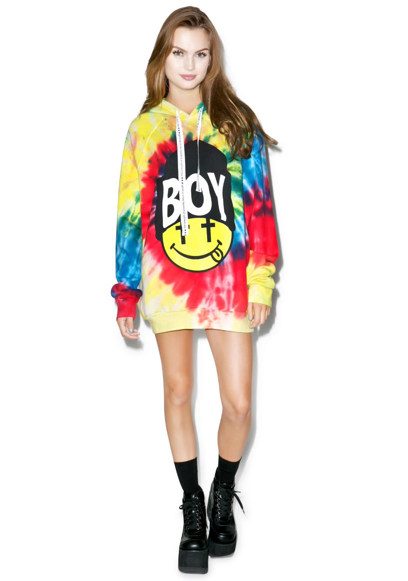 BOY London United Boy Acid Beanie Hoodie