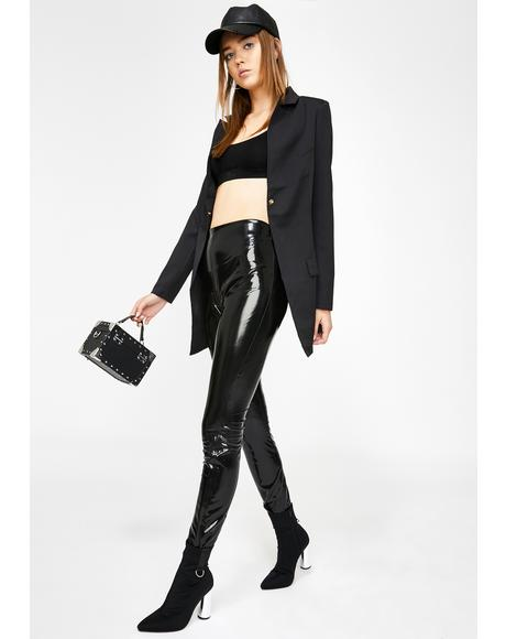 Dominatrix Vinyl Skinny Pants