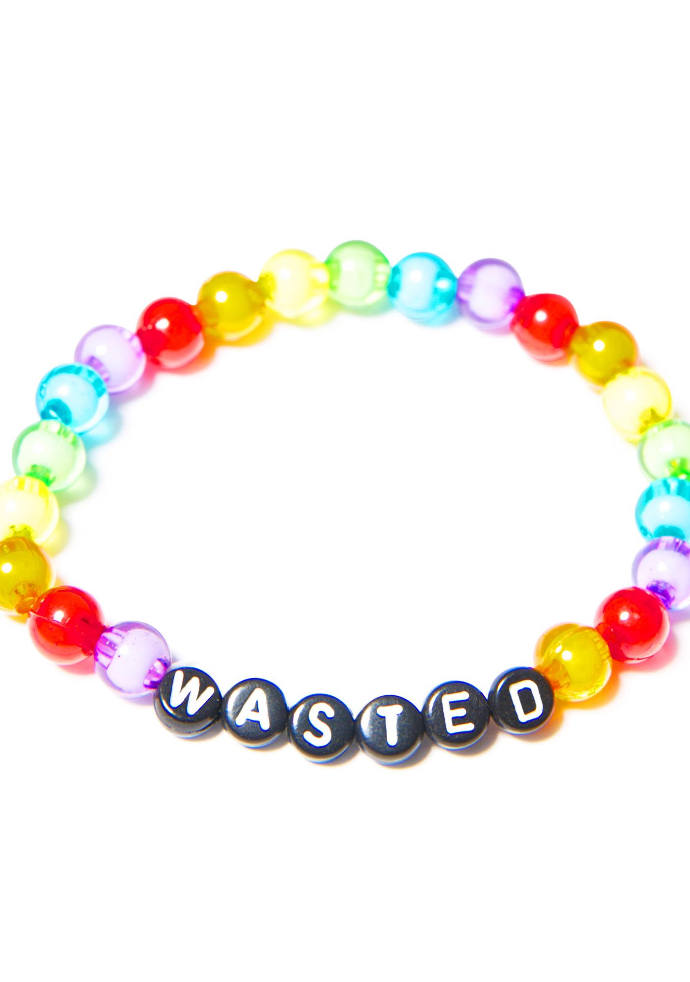 White Girl Wasted Bracelet