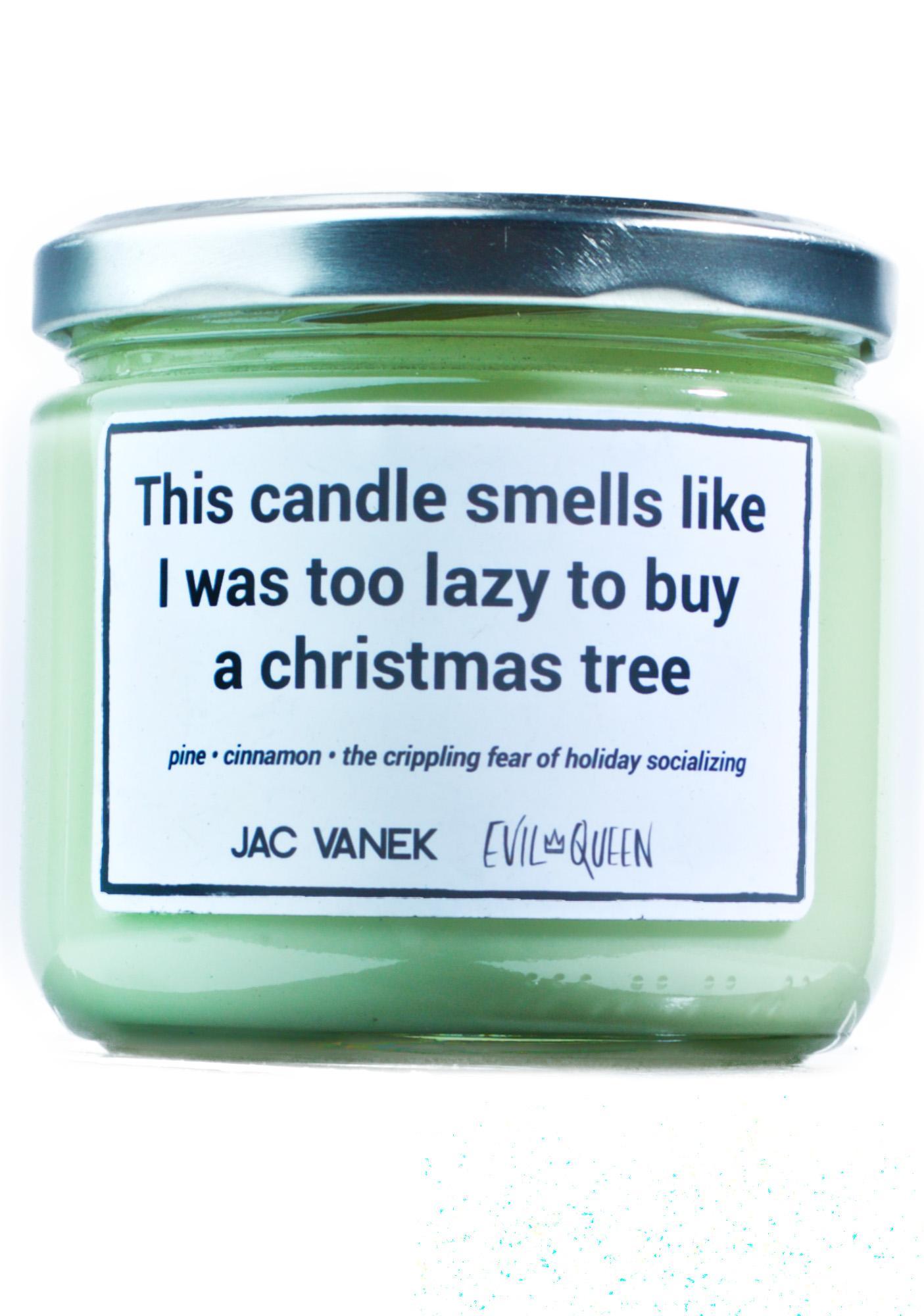 Jac Vanek Christmas Tree Scented Candle