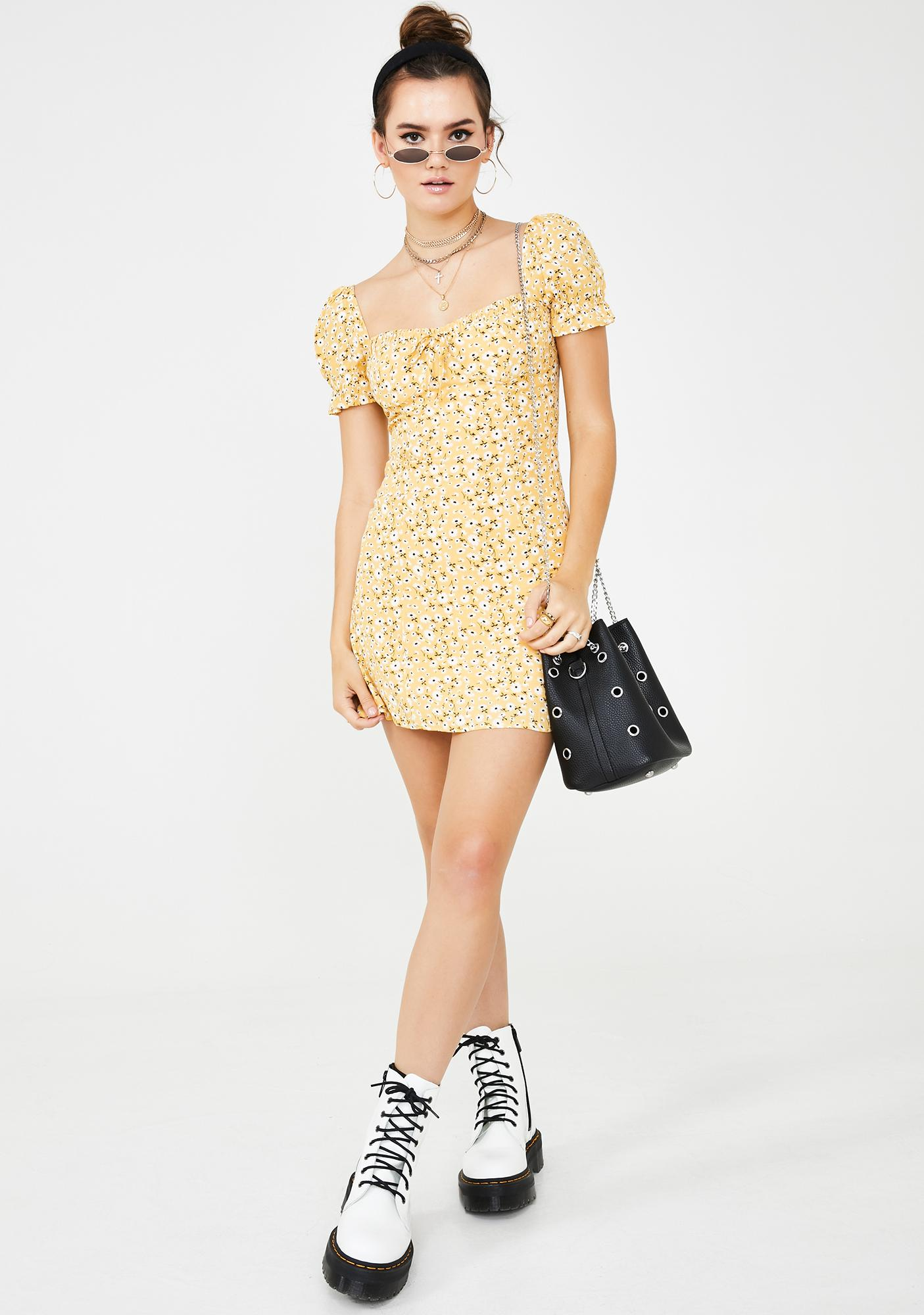 Spoiled N' Sunny Mini Dress