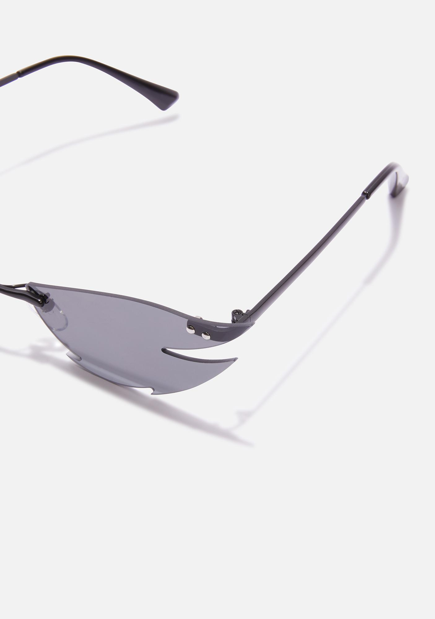 Cut Deep Frameless Sunglasses