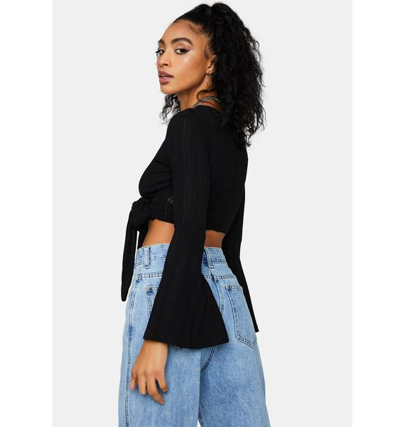 There For You Wrap Top