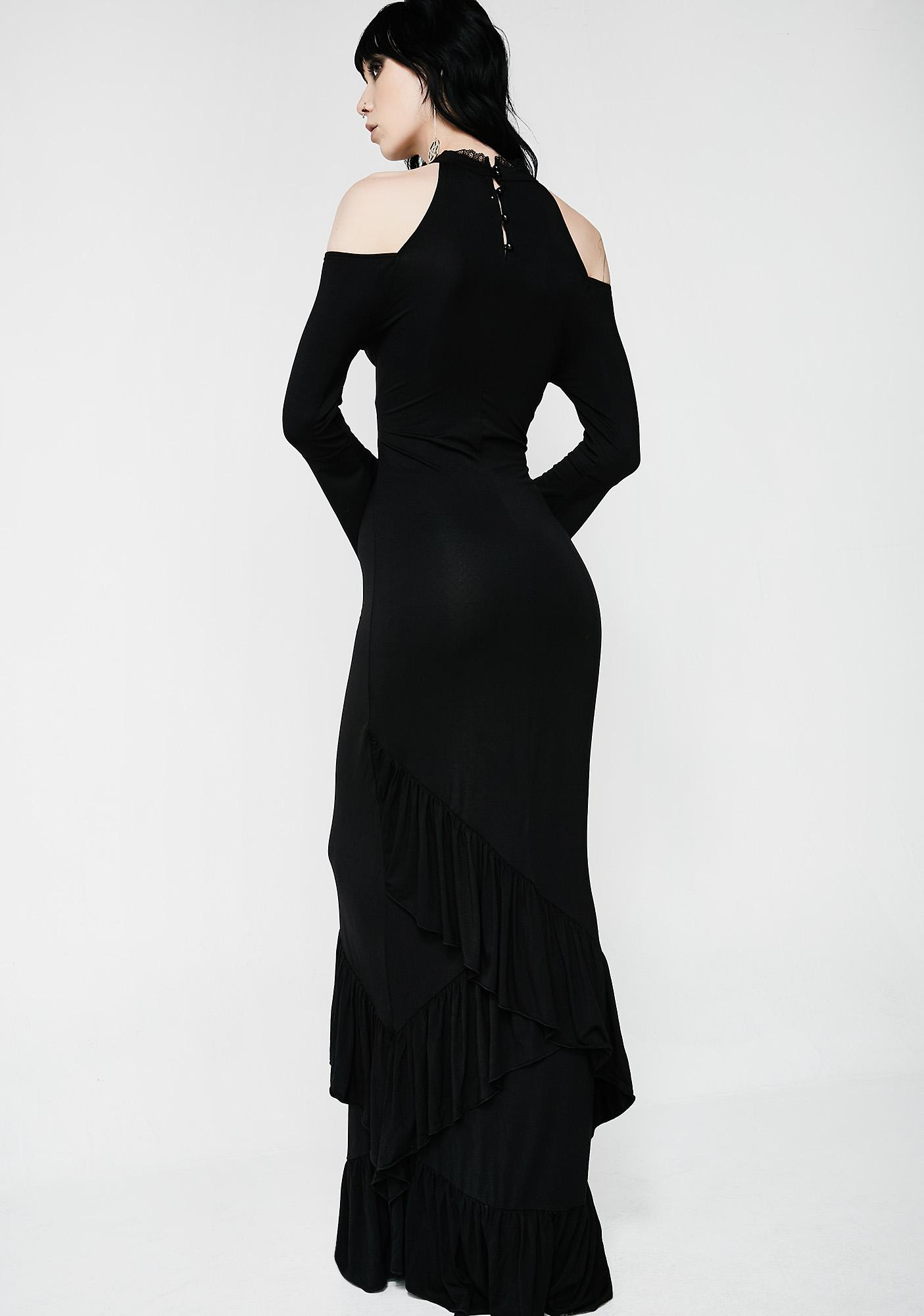 Killstar Forever Fades Fishtail Dress