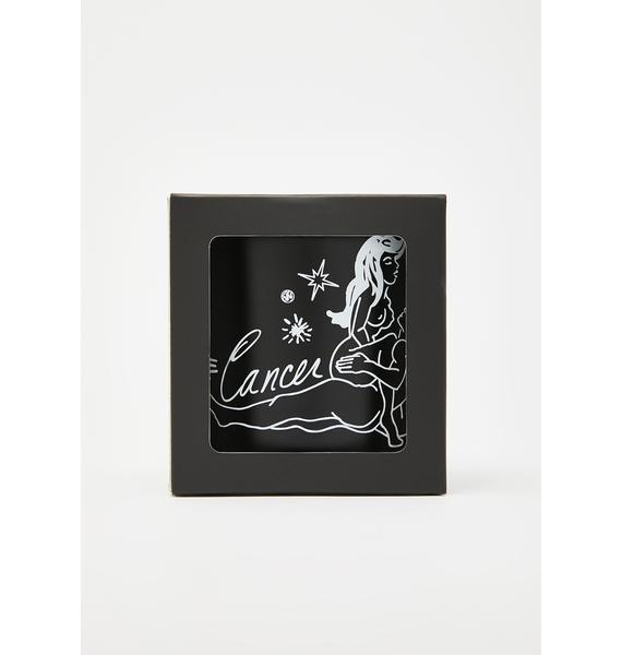 Black Cake Cancer Zodiac Massage Candle