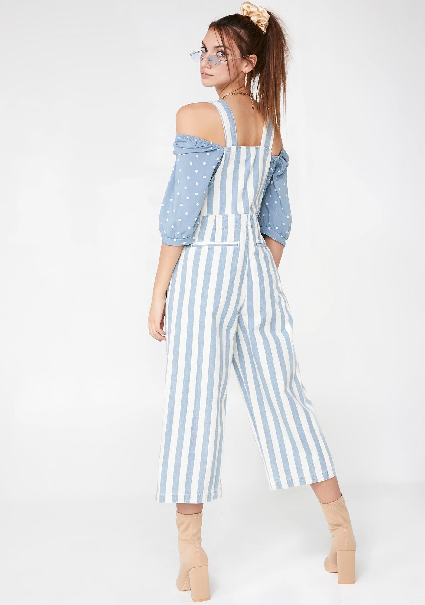 Just Want You Denim Overalls