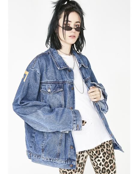 City Of Gods Denim Jacket