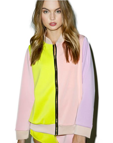 The Pastel Bomber Jacket