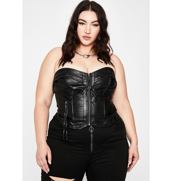 Baby Drive My Car Bustier Top