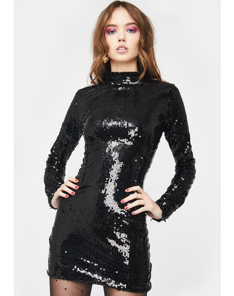 Midnight Moment Sequin Dress
