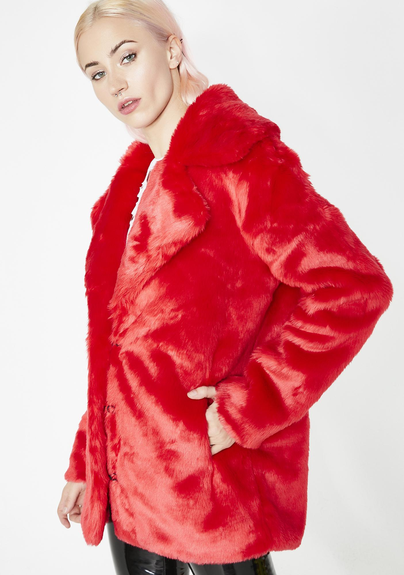 9027569a0 Racked Up Faux Fur Jacket