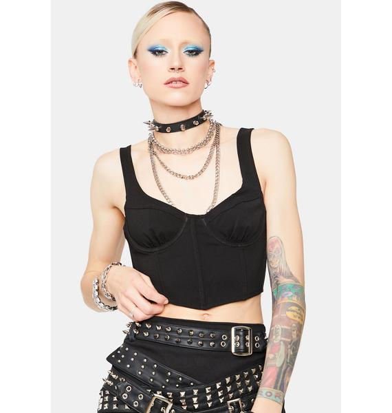 Cover For Me Bustier Crop Tank
