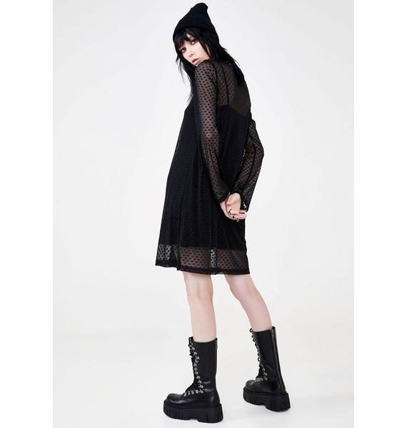 Disturbia Broken Heart Tee Dress