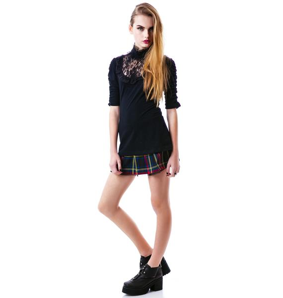 Vamp It Up Knit Top
