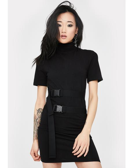 Georgia Short Sleeve Bodycon Dress