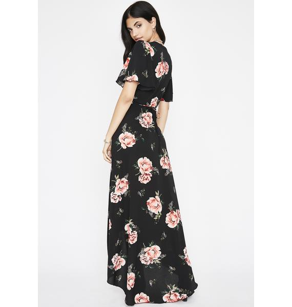 Find Some Time Maxi Dress