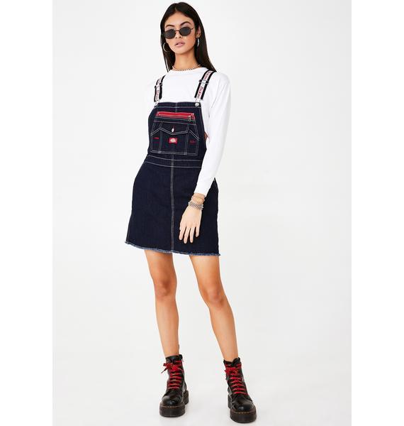 Dickies Girl Carpenter Overall Dress