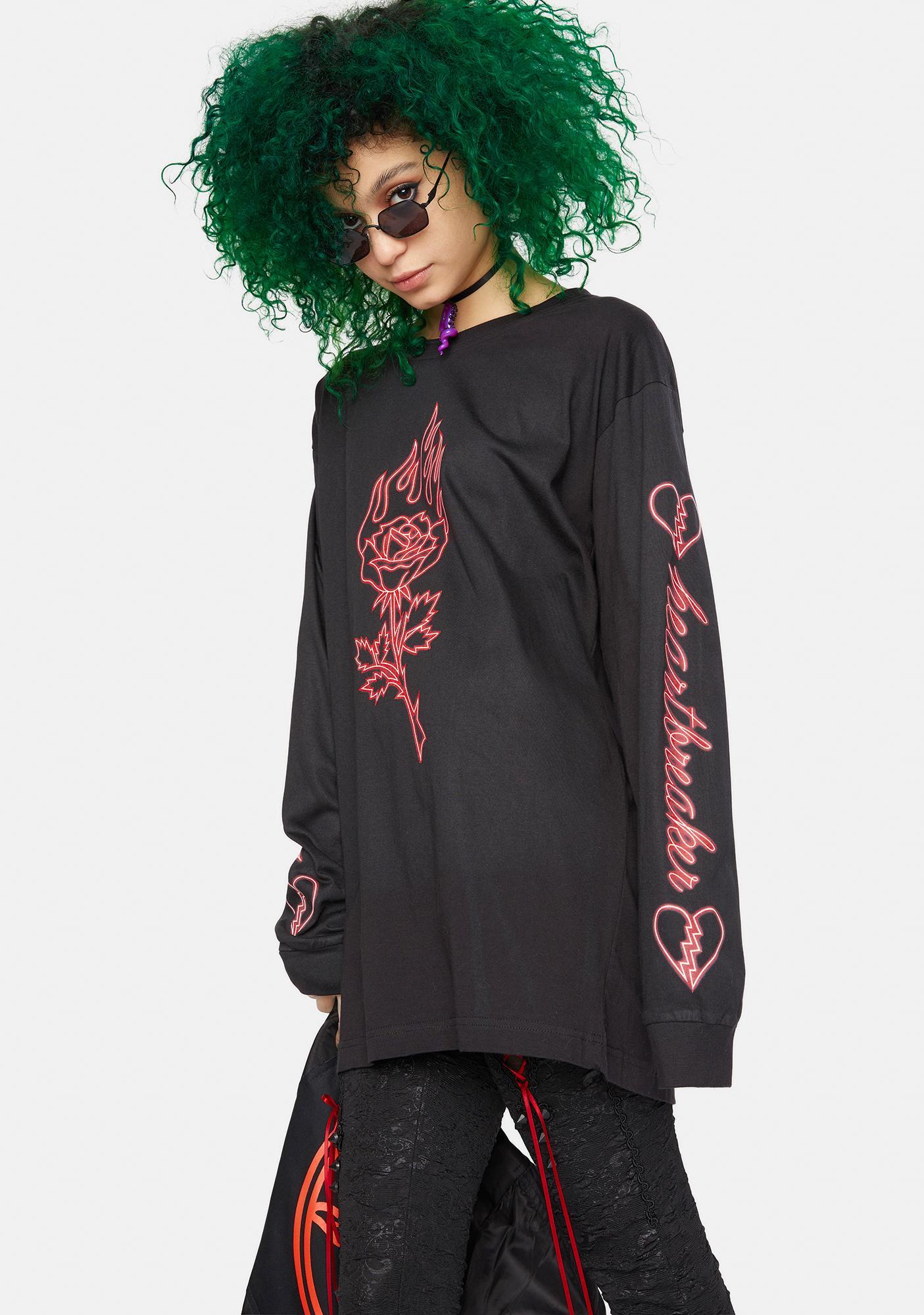 Long Clothing X Nympha Heartbreaker Long Sleeve Tee