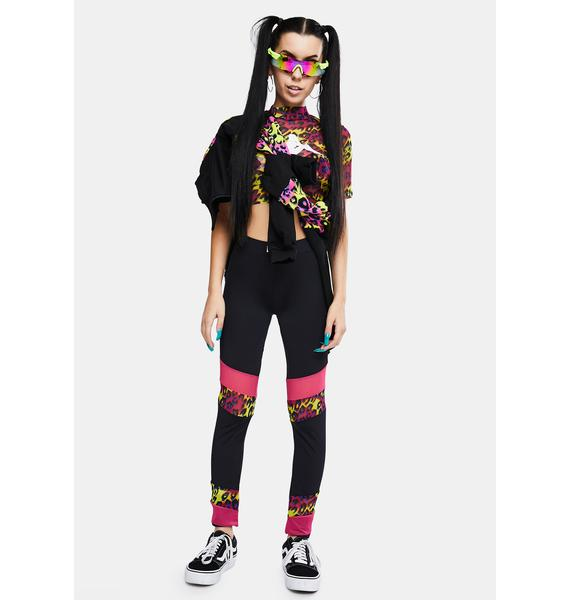 Kappa Authentic Delani Graphik Leggings