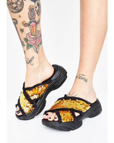 Vacay Mode Platform Sandals
