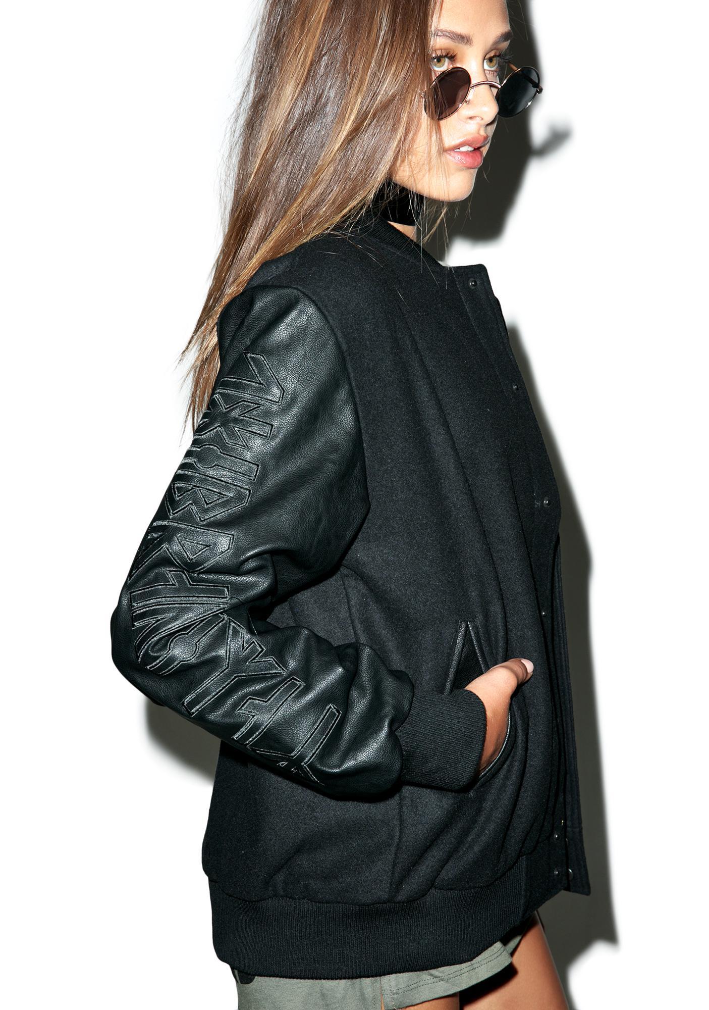 Long Clothing Mishka 2.0 Death Adder Chain Varsity Jacket