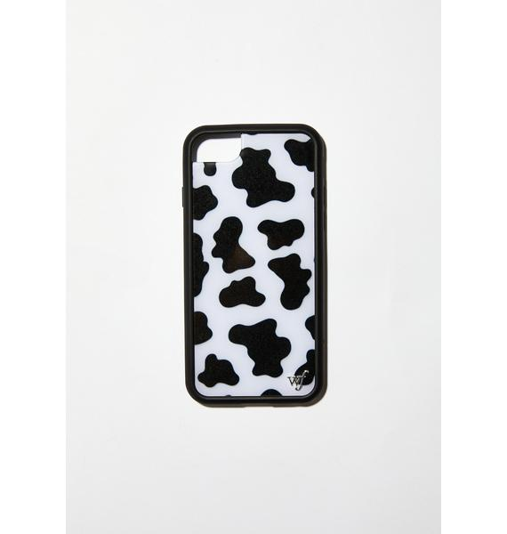 Wildflower Moo Moo iPhone Case