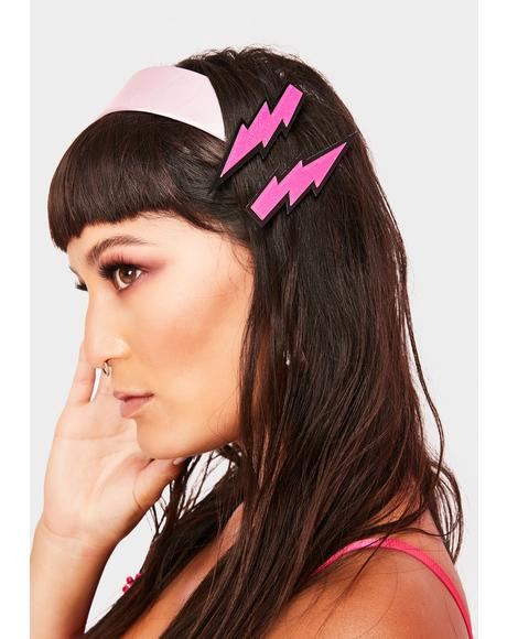 Shocking Sensation Hair Clips