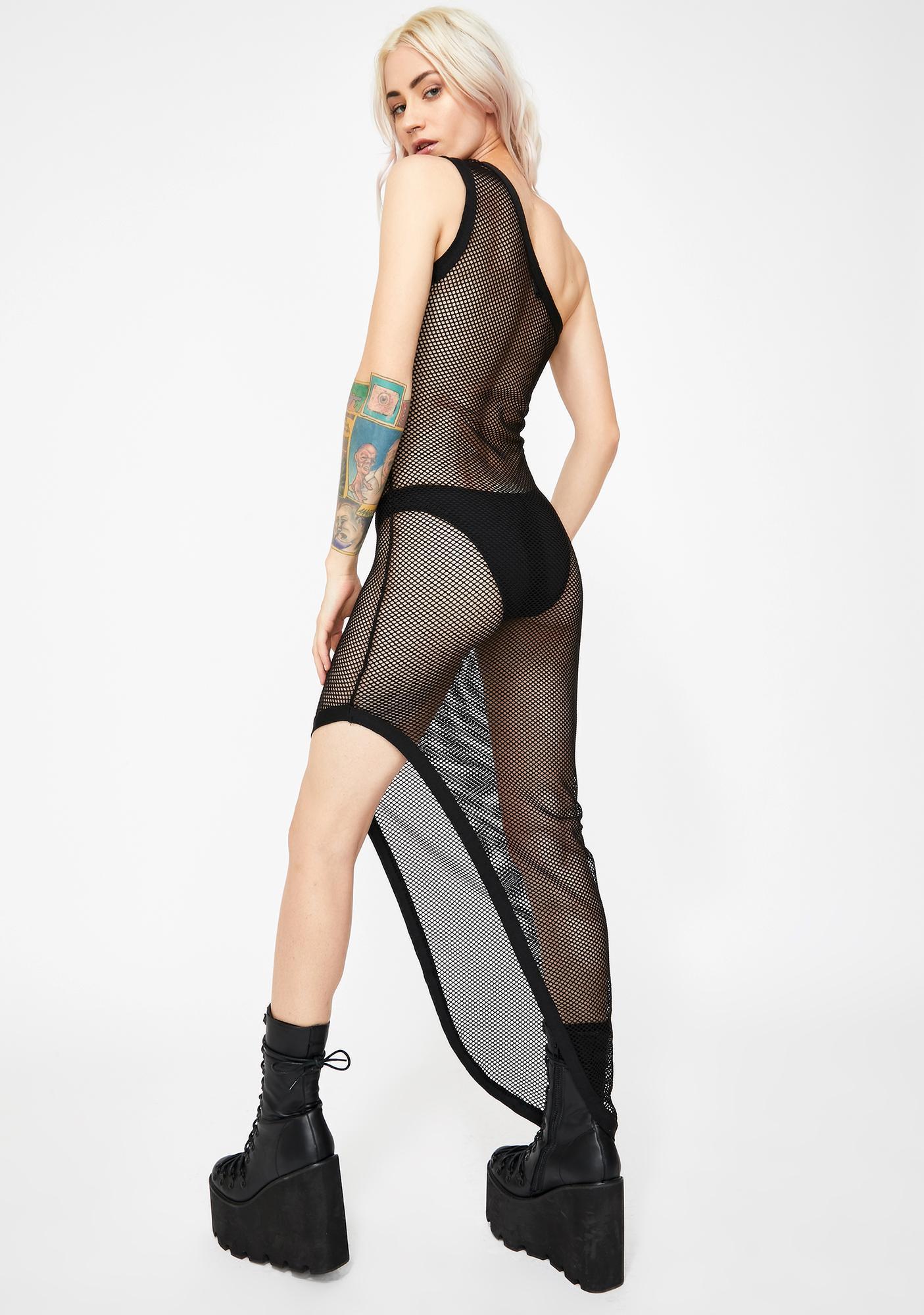 Kiki Riki No Apologies Sheer Dress
