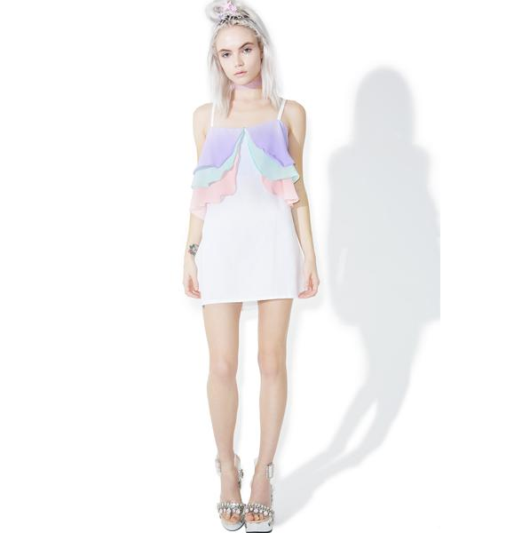 Wispy Wonders Mini Dress