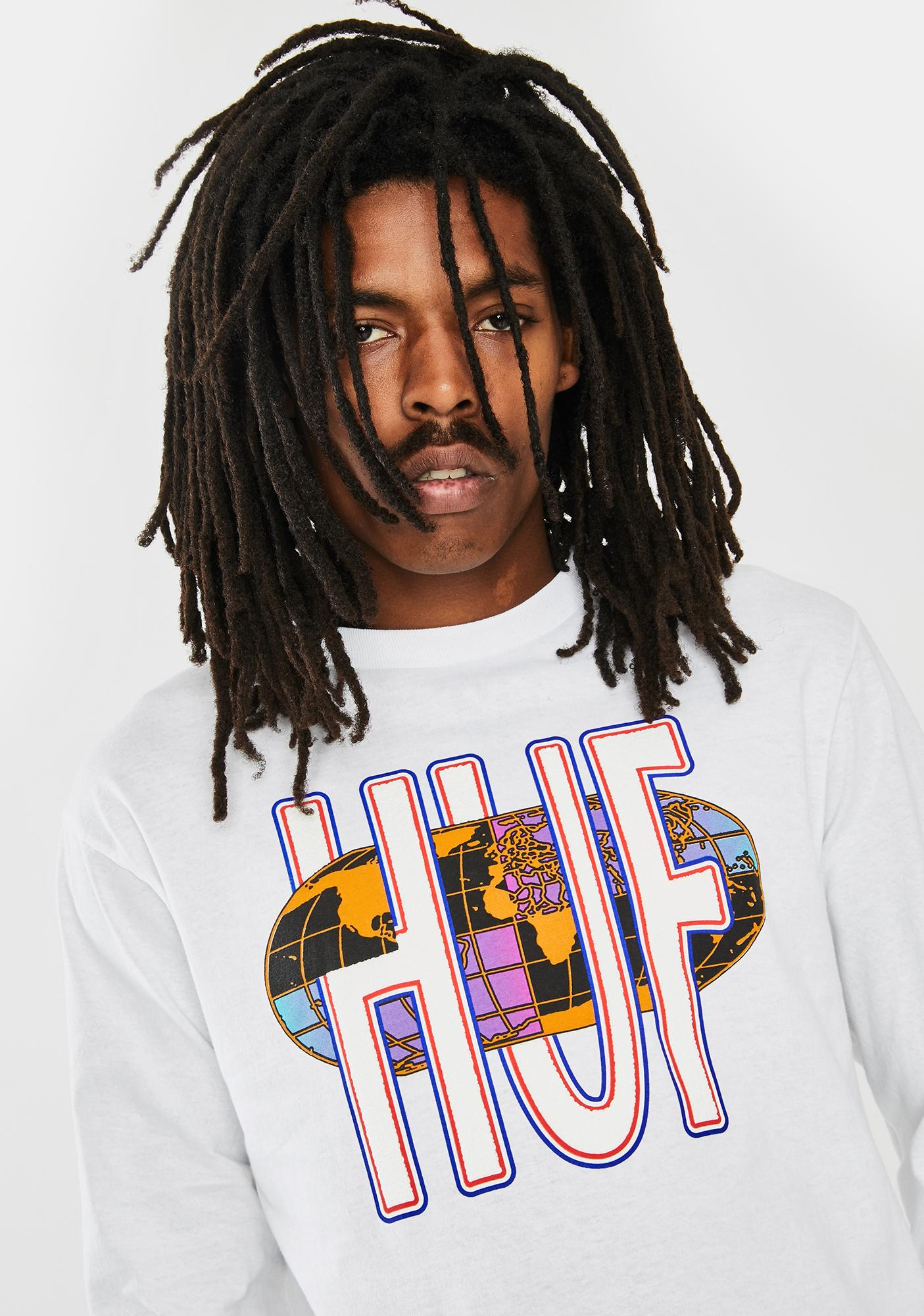 HUF Quake USA Graphic Tee