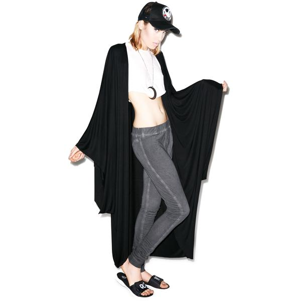 Lauren Moshi Eloise Long Draped Cardigan