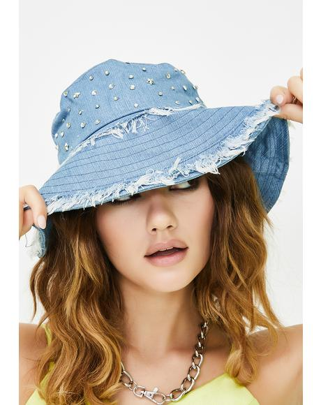 Chill Quick Wish Denim Bucket Hat