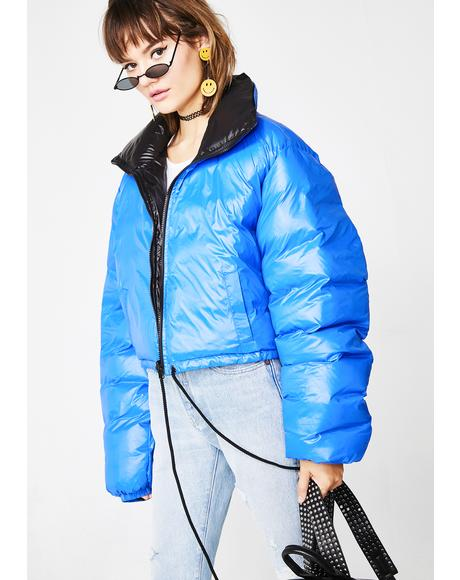 City Slicker Reversible Puffer Jacket