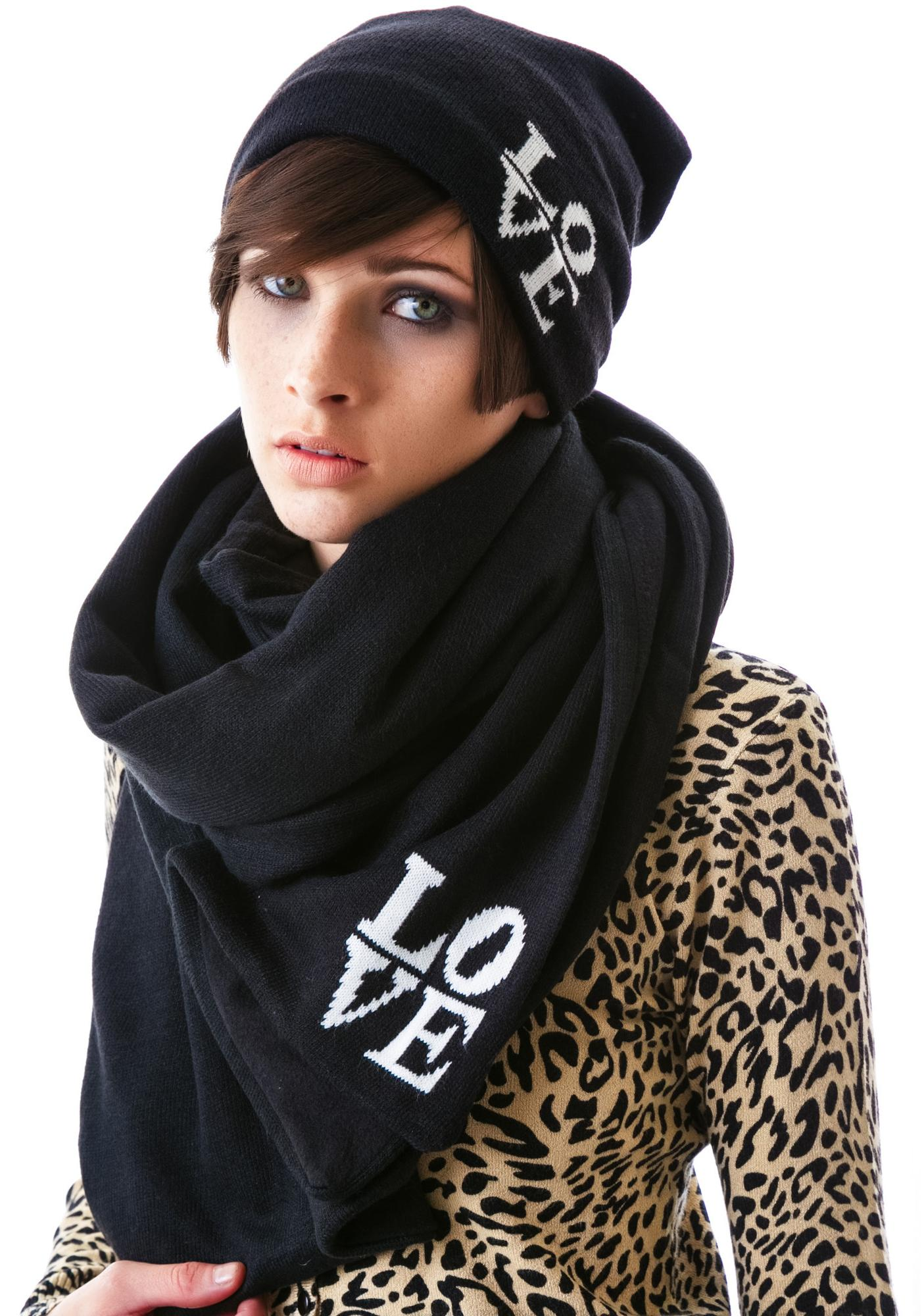 Plush Lover Fleece Lined Scarf