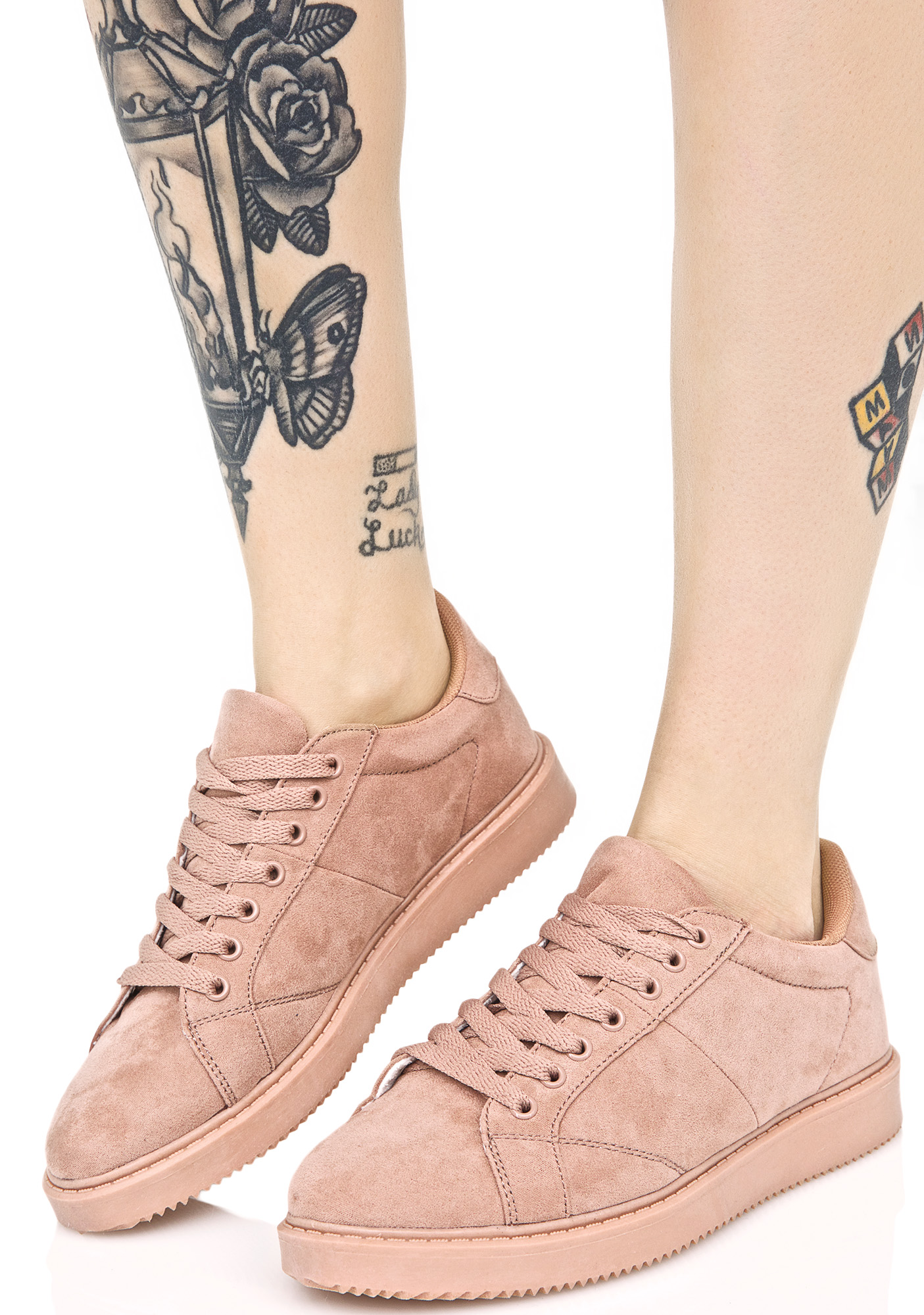 Chic Pink Mono Sneakers