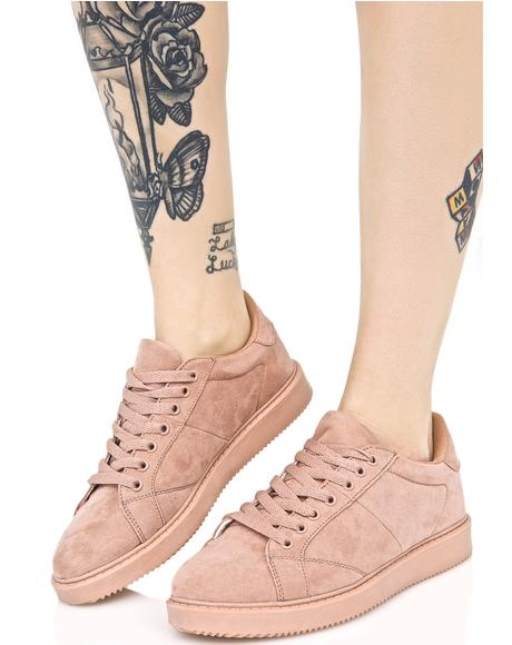 Rose Metro Monochrome Sneakers