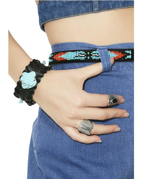 Joshua Tree Turquoise Cuff Bracelet