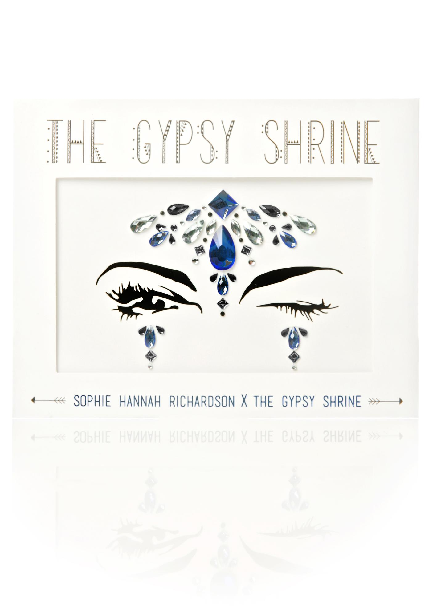The Gypsy Shrine Blue Face Gem Set