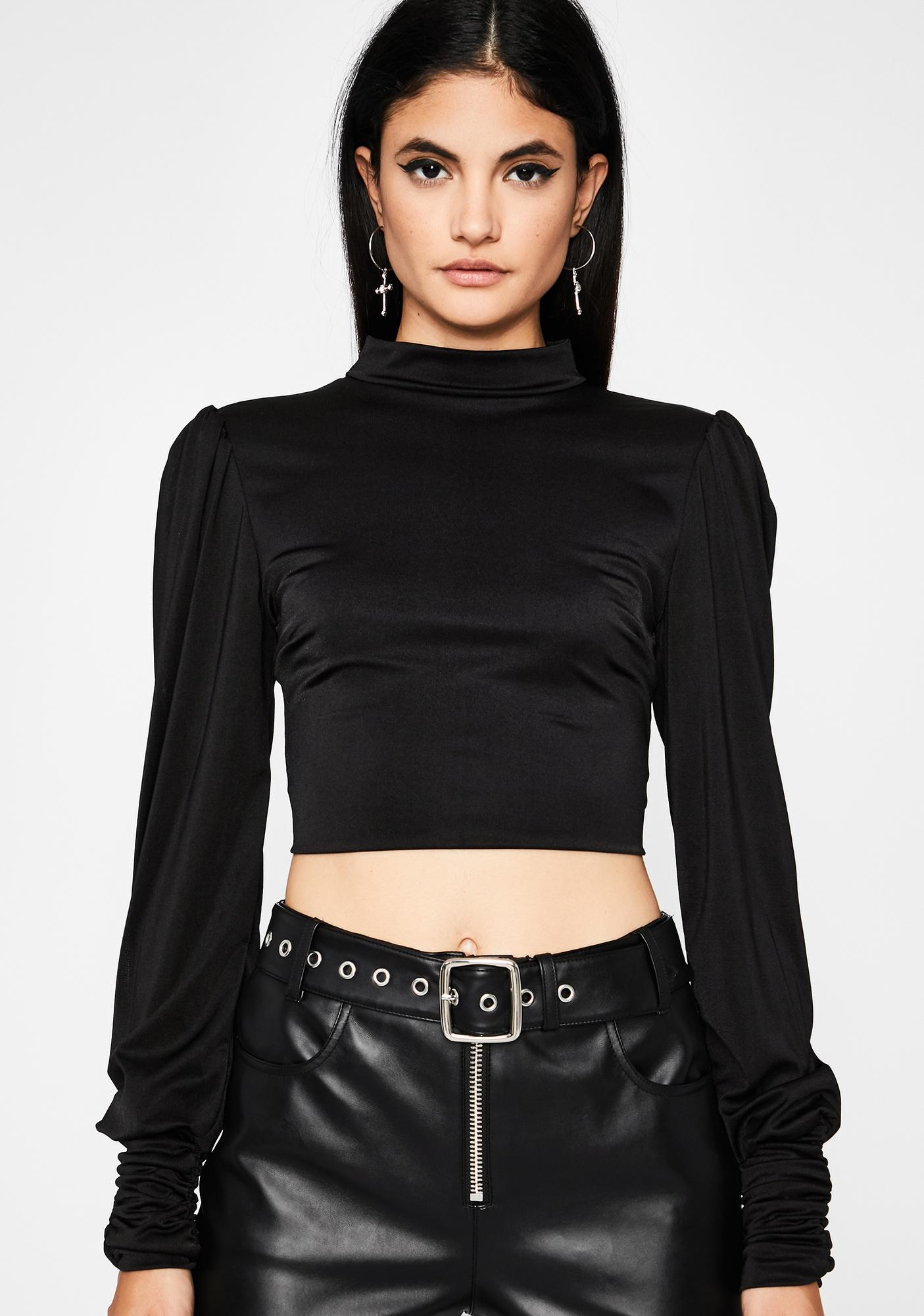Show Don't Tell Turtleneck Top
