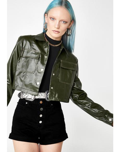 Homebound Heaux Crop Jacket