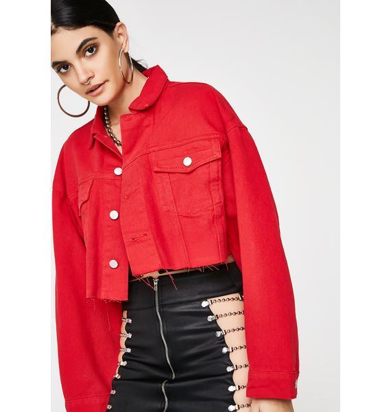 Raging My Prerogative Cropped Jacket