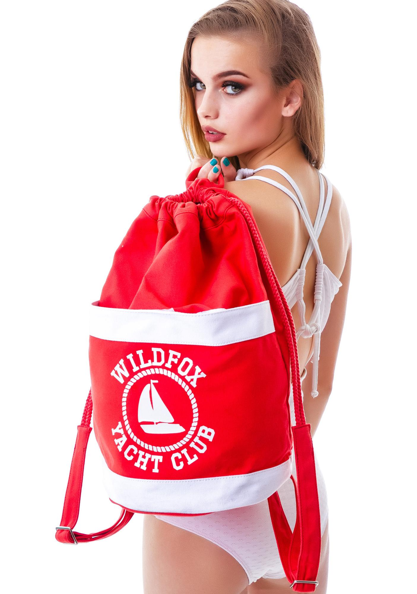 Wildfox Couture Sail On Beach Backpack