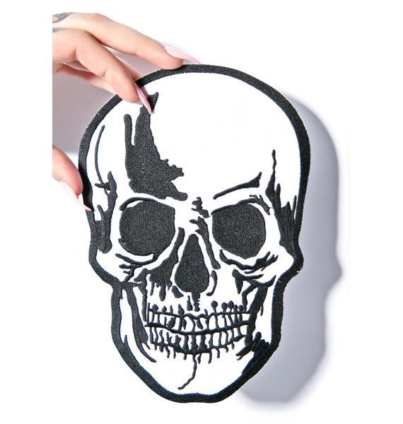 Large Dead Head Patch