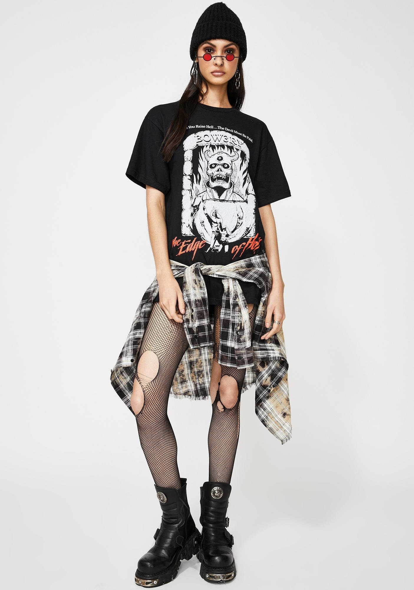 BOW3RY Edge Of Hell Graphic Tee
