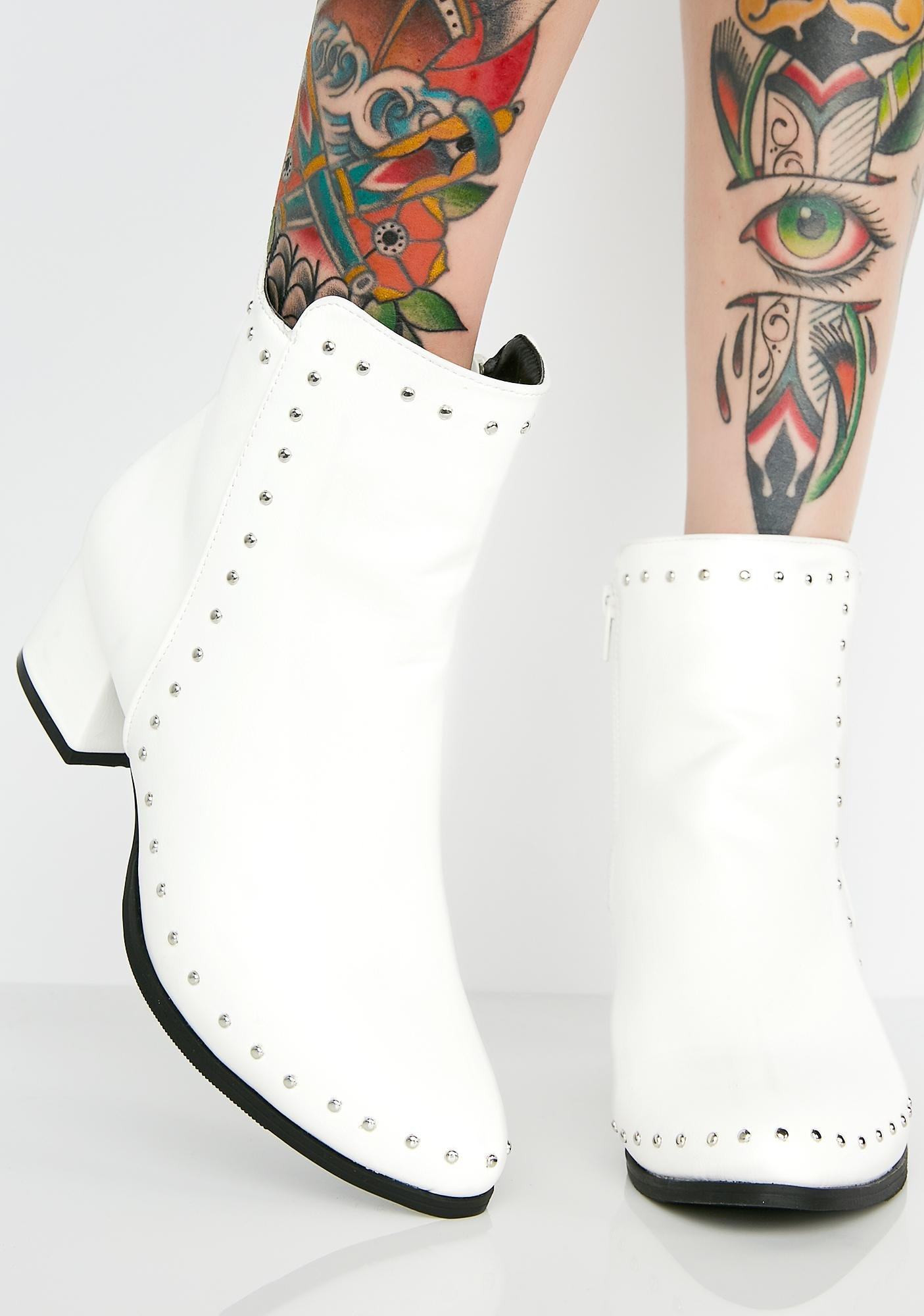 Purely Above it Studded Booties shop offer online edPL5yIq1