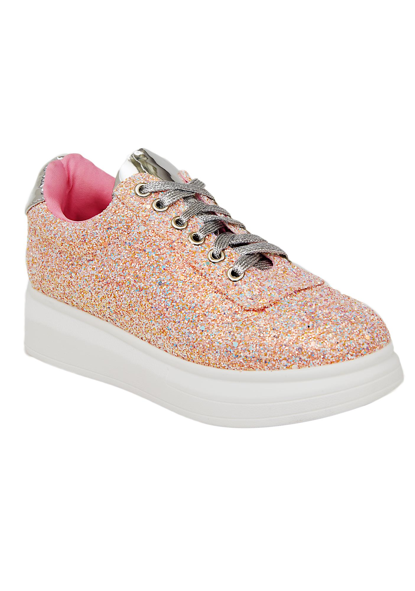 Candy Sparkle Stomp Glitter Sneakers