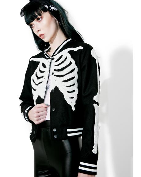 Wishbone Varsity Jacket