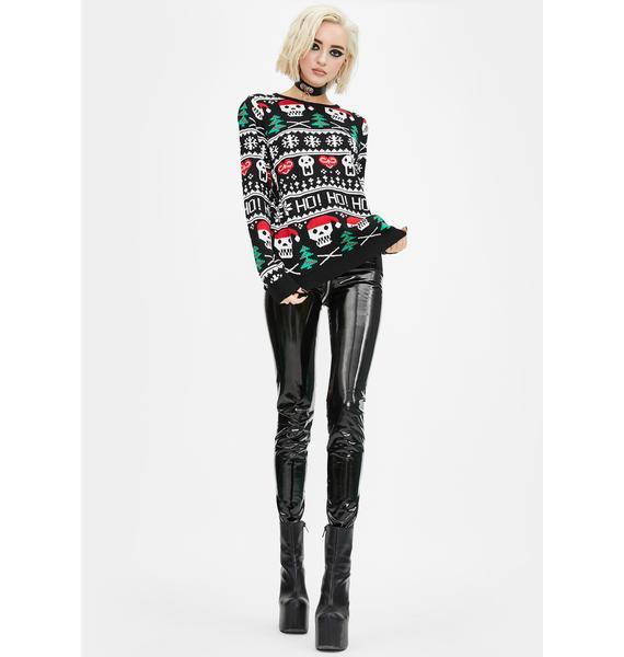 Too Fast Ho Ho Ho Christmas Sweater