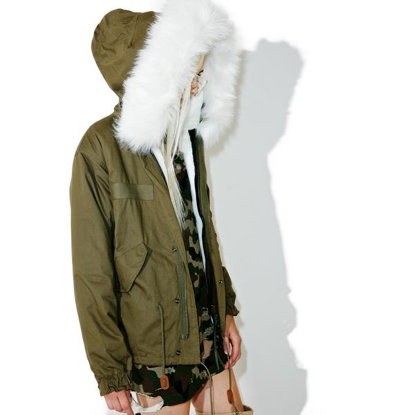 Whereabouts Faux Fur Parka